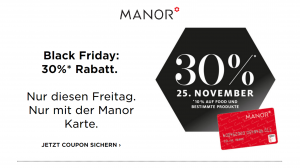 Manor Black Friday