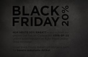 Kuhn Rikon Black Friday