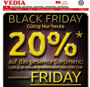 Black Friday Vedia