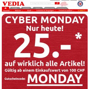 Cyber Monday Vedia