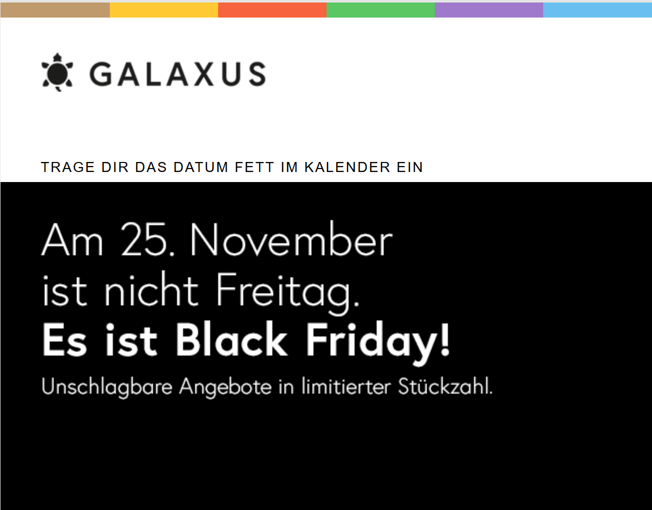 live shopping deals bei galaxus black friday schweiz 2018. Black Bedroom Furniture Sets. Home Design Ideas