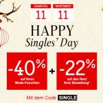 La redoute single's day
