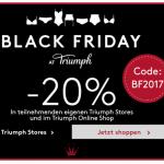 Black Friday bei Triumph