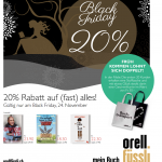 Black Friday Sale bei Orell Füssli