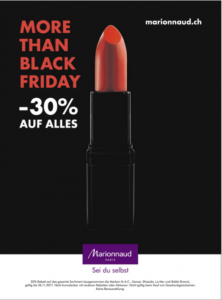 Marionnaud More than Black Friday