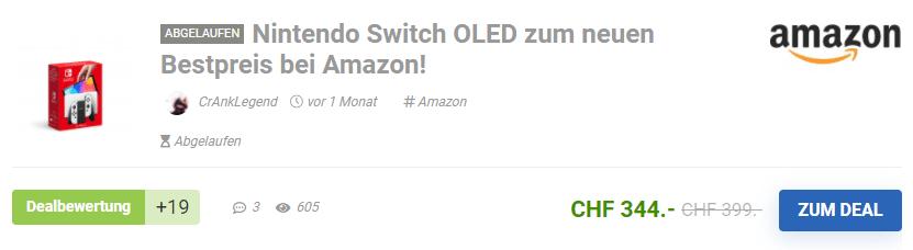 nintendo switch oled bestpreis