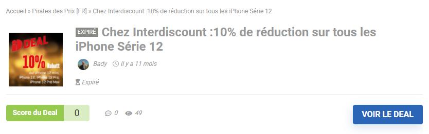 Iphone 12 Interdiscount