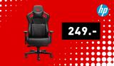 Chaise de jeux HP OMEN Citadel noir/rouge
