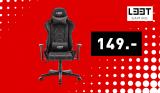 Chaise de jeu L33T Elite Eccentric noir