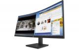 UWQHD-Bildschirm HP M34D Curved (USB-C + USB-Hub, 99% sRGB, 300 Nits, 100Hz, integrierte Lautsprecher) bei Interdiscount