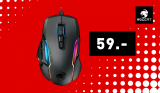 Souris gaming Roccat Kone AIMO Remastered (noir)