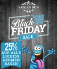 25% Black Friday Sale bei Vaper´s Den