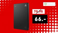 Disque dur Seagate Game Drive 2TB pour consoles PS4 (noir)