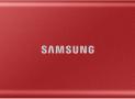 Samsung Portable SSD T7 1TB in Rot bei MediaMarkt