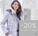 20% Rabatt bei Ackermann auf Mäntel & Jacken zum Single's Day