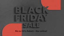 Black Friday Deals bei Schubiger Möbel in Zürich