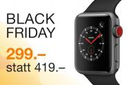 Apple Watch S3, GPS+3G, 38mm, dunkelgrau bei DQ Solutions