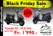 Yamaha XC 125 E Vity (20% Rabatt) Blackfridaydeal