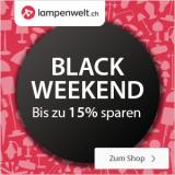 Bis 15% Rabatt bei Lampenwelt.ch