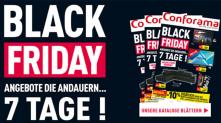 7 Tage Black Friday bei Conforama