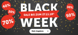 Black Week Sale bei Cornelia