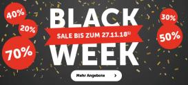 Black Week Sale bei Cornelia