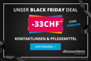 CHF 33.- sur toute la gamme de produits chez Discountlens