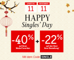 40% + 22% bei La Redoute zum Single's Day