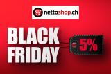 5% su tutta la gamma a nettoshop.ch