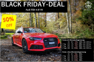 Fahrspass mieten! 50% auf alle Mietpreise von Audi RS6 und Jeep Grand Cherokee SRT8