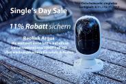 Single's Day: 11% Rabatt auf Reolink Argus