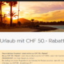 Bis zu CHF 50.- Rabatt auf eine Pauschalreise bei easyJet ab einem Wert von CHF 1000.-