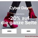 Cyber Monday: Mindestens 20% auf alles bei Sarenza