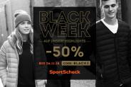 Black Week chez SportScheck : c'est la fête avec 50% de rabais sur leurs meilleurs produits