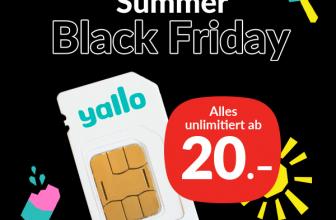 yallo Summer Black Friday 2021