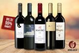 Bis zu 55% Rabatt auf Top-Markenweine bei Weinclub