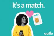 50% auf unlimitierte Mobilabos bei yallo am Singles' Day