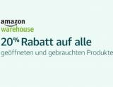 20% auf Warehousedeals bei Amazon