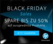 Bis zu 50% auf ausgewählte Produkte bei HP am Black Friday Weekend