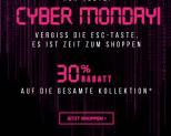 30% Rabatt auf alles bei Hunkemöller zum Cyber Monday
