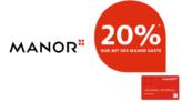 PRE BLACK FRIDAY bei Manor: 20% Rabatt