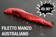 Filetto manzo australiano 49.90 CHF/kg a meat4you