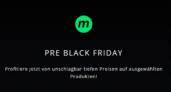 Ausgewählte Produkte bei microspot zum Pre Black Friday stark reduziert