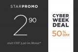 50% auf die eigene Website mit Webhosting