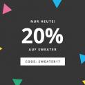 20% auf Sweater bei Esprit
