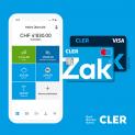 Ouvrez gratuitement un compte Zak et vous recevez un avoir initial de 25 CHF + un bon d'achat de Galaxus d'une valeur de 50 CHF